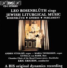 LEO ROSENBLUTH SINGS JEWISH LITURGICAL MUSIC CD