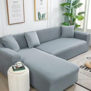 Home Decor Solid Color Sofa Covers For Living Room Sofa Towel Slip-resistant