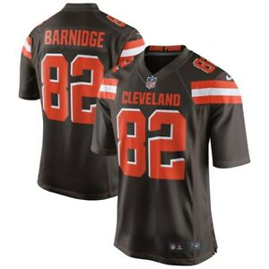 💯% Genuine NFL Gary Barnidge Cleveland Browns Nike Game Jersey - Brown Small