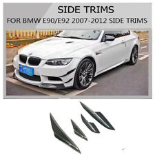 Carbon Fiber Canard Front lip splitter front for bmw E90 E92 E93 M3 2007-2012