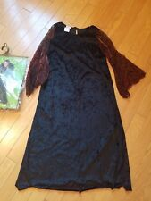 Girls Spider Countess Halloween costume, DRESS only, Size Large 10-12 years