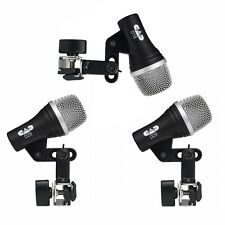CAD Audio Drum Mic Set with 2 D29 Toms & 1 D19 Snare Microphone