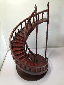 A Large Architectural  Model of a Spiral Staircase.