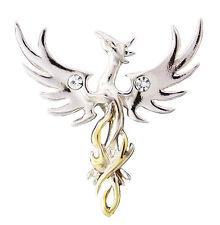 Sun Phoenix Pendant  by Anne Stokes 925 Silver COM04