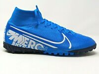 Nike Mercurial Superfly 7 Elite TF Turf Soccer Shoes AT7981-414 Men's Size 7