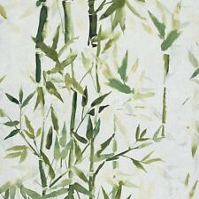 219462 - Sumi-E Bambou Vert Galerie Papier Peint