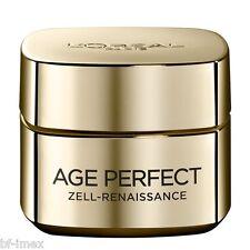 6 x LOREAL  L´OREAL  AGE PERFECT ZELL RENAISSANCE GOLD  Tag / Day CREME  NEU