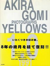 "Akira Gomi photo book ""Yellows 1.0"" Japan 1st edition w/Obi"