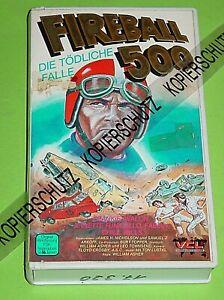 FIREBALL 500 - DIE TÖDLICHE FALLE  / VCL - VIDEO / F. AVALON / KLAUS DILL COVER