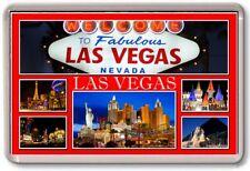 FRIDGE MAGNET - LAS VEGAS - Large - USA TOURIST