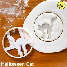 Halloween Cat cookie cutter | trick or treats bonfire night kids party biscuit