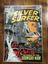 Silver Surfer 13 VG 4.0 Strict Grading - 1st Doomsday Man! Lee & Buscema (J/D)