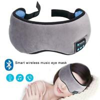 Creative Bluetooth Music Eye Mask Sleep Blindfold Blinder W6I4