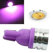 Super Bright T10 W5W 168 194 501 LED 12V Wedge Car Turn Signal Purple Light Bulb