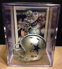 Dallas Cowboys Jason Witten mini Revolution Helmet Shadowbox w/ Card