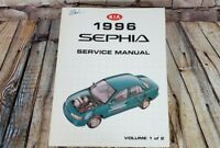 1996 KIA Sephia Service Manuals Manual OEM Factory Shop