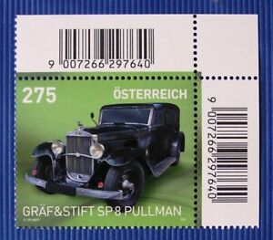 "GRÄF & STIFT SP8 ""Pullman"" Michel 3571, Serie Automobile - Österr SM 2021**"