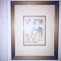 Salvador Dali Don Quixote - Collectors Guild Signed Original Etching-COA
