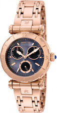 Invicta Women's Subaqua Chrono 100m Rose Gold Tone Stainless Steel Watch 24429