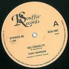 TONY MORGAN No Cruelty Vinyl Record 12 Inch Souffle SOU 001 1982