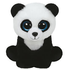 TY Beanie Baby - MING the Panda Bear (2015 version) (6 inch) - MWMTs Stuffed Toy
