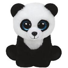 TY Beanie Baby - MING the Panda Bear (2015 version) (6 inch) - MWMTs Stuffed Toy