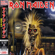 IRON MAIDEN - Self Titled - Japan Enhanced CD - TOCP-53756