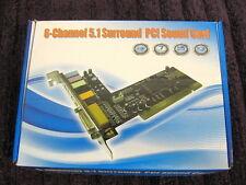 6-Channel 5.1 Surround Sound PCI sound card - Model CC-SC6C