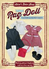 Rag Doll School Uniform Outfit - Sewing Pattern & Instructions DOWNLOAD