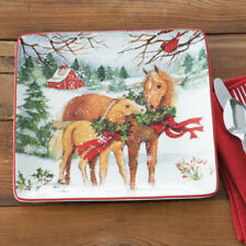 Christmas on the Farm Dinner Plate