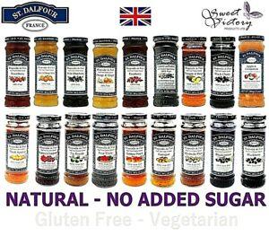 ST DALFOUR Preserve (Pick Flavours) No Added Sugar Gluten Free Jam 284g ALL