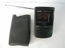 casio tv-470 tv portatile con custodia