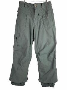 Burton Ronin Cargo Snowboarding Pants Gray XL 36 x 29