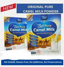 PURE Camel Milk Powder halal/ NO SUGAR /high calcium& immunity  25 gram x 20's