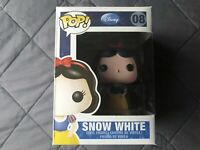 Funko Disney SNOW WHITE 08 Pop Vinyl Figure Series 1 RETIRED Collectible Toy