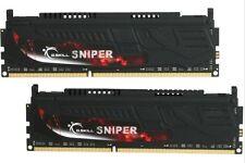 G.SKILL Sniper 8GB (2 x 4GB) DDR3 DDR3 1866 (PC3 14900) Desktop Memory RAM