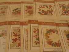 Keepsake Quilting Monthly 12 Patterns and Fabric Baltimore Autumn