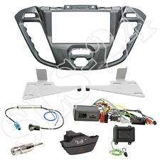 Ford Transit Tourneo Custom Doppel-DIN Blende nebula + JVC Lenkradinterface Set