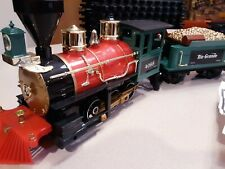 G SCALE RIO GRANDE TRAIN, STEAM ENGINE 4067, 4068 TONS OF TRACK CHRISTMAS GIFT