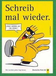 AK ungelaufen um 1990 Postkarte Schreib mal wieder - VIELE GRÜSSE AN DIE SÜSSE!
