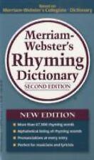 Merriam-Webster's Rhyming Dictionary (Paperback or Softback)