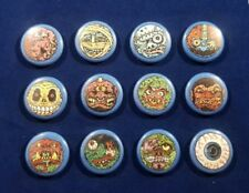 "Madballs set of 12 1 inch 1"" buttons pins badges 80s gross skullface horn head"