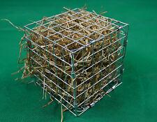 GRANDE Alimentatore GABBIA cubo di fieno/Rack giocattolo per Conigli, Cavie, CINCILLA'