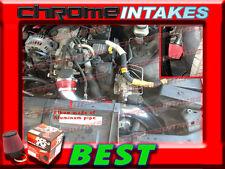 K&N+RED 95-97 CHEVY CAMARO/PONTIAC FIREBIRD 3.8L V6 FULL COLD AIR INTAKE KIT