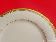 Noritake - Richmond 6124 Gold Gilded Collectors Luncheon Plate