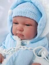 AEL bébé  NEWBORN  sexué GARCON  + HABIT + TETINE poupée jouet- reborn neuf