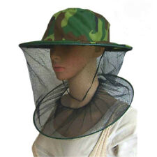 Neu Moskito Insekt Schutz Kopf Hut Netz Kopfnetz Moskitonetz Bienen^