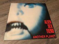 Alien Sex Fiend – Another Planet LP P8
