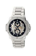 Reign commodes skeleton automatic dial silver bracelet men's luxury watch