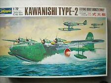 HASEGAWA-1/72-#JS-21- KAWANISHI TYPE-2 FLYING BOAT (H8K2)EMILY